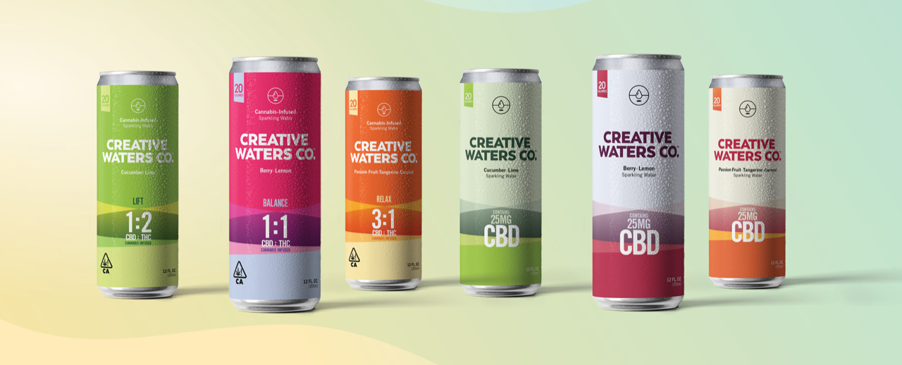 creative waters cbd drink