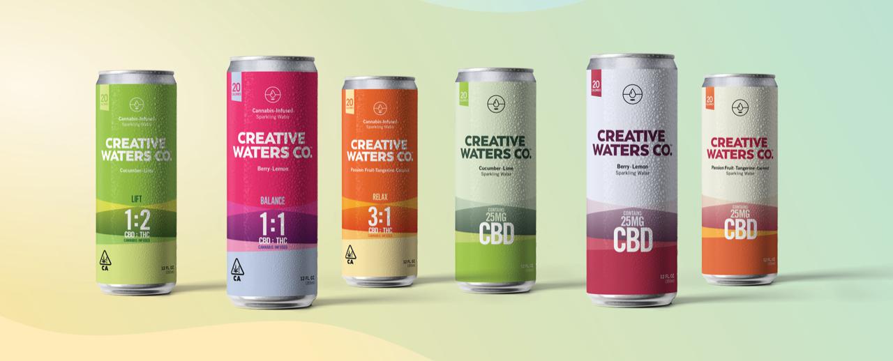 creative waters cbd drink