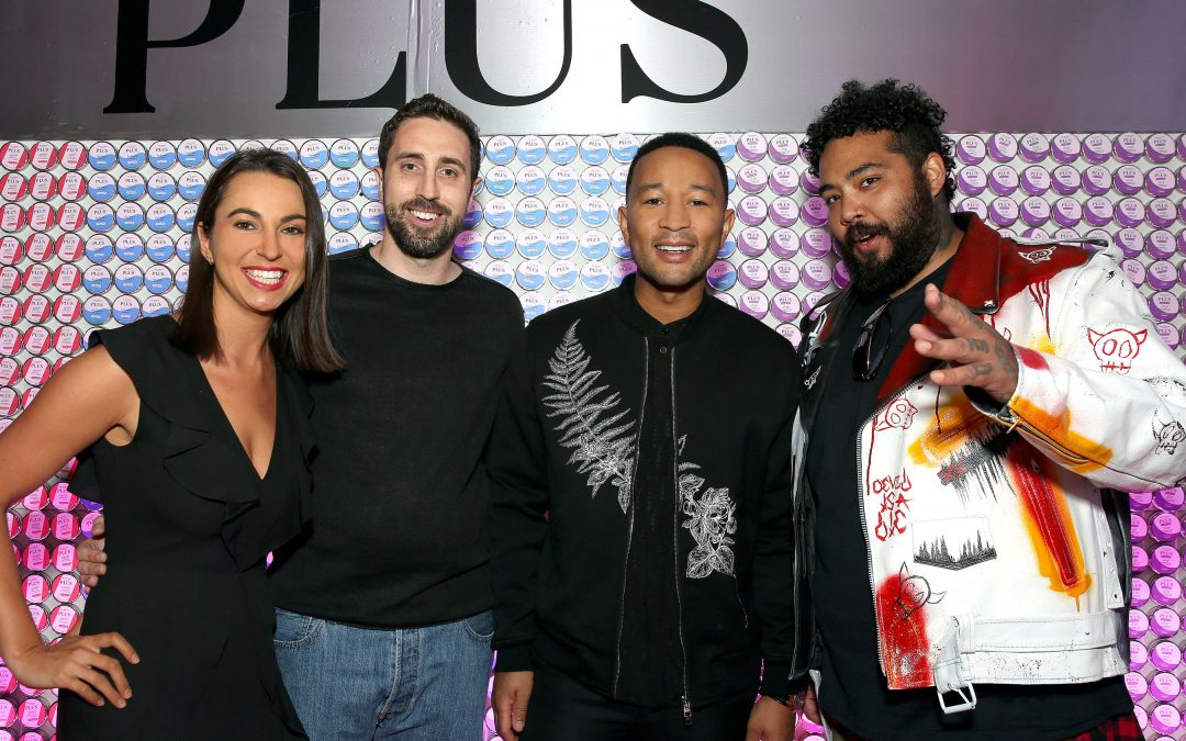 PLUS Products Partners w/ John Legend and CASPER – Launches 100% Hemp CBD Edible Line Nation-Wide