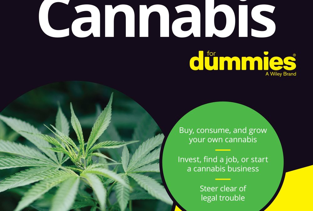 New Book Cannabis For Dummies to be Published on May 14th