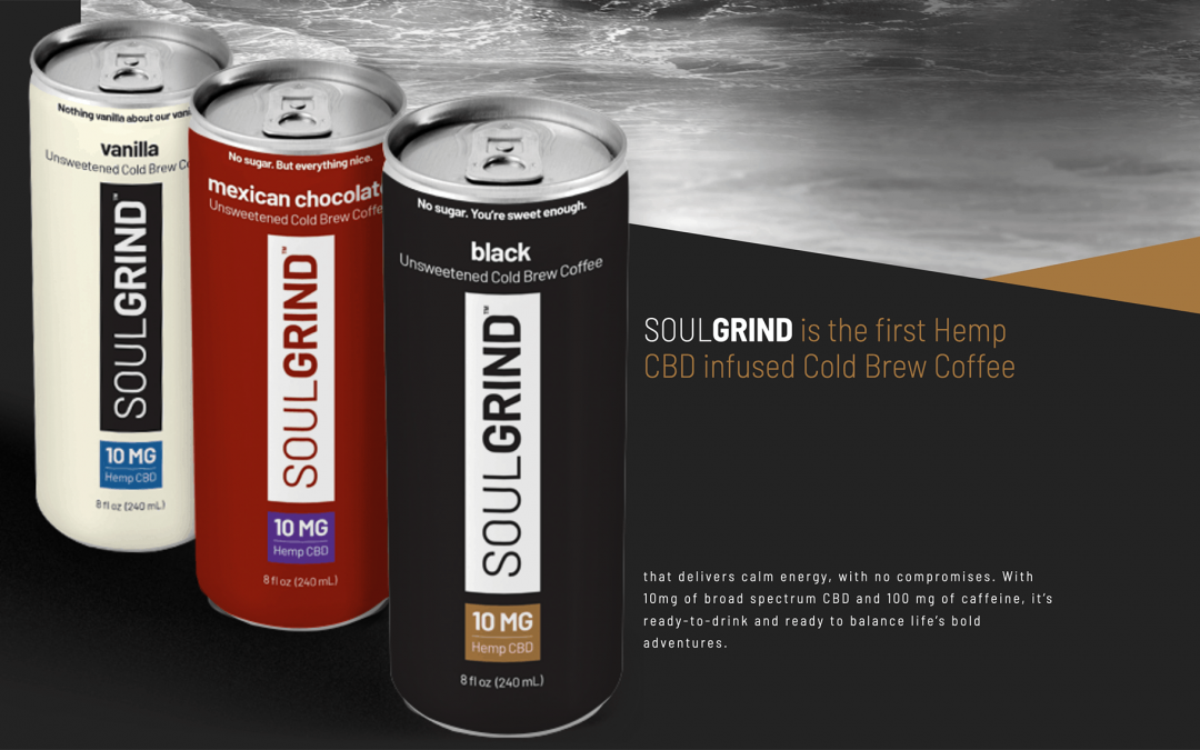 Caliva Introduces Soul Grind, a RTD hCBD Cold Brew Coffee